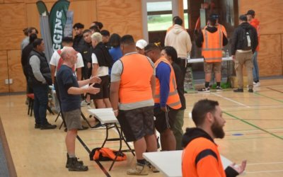 Tradies' meet and greet, highlight of the year